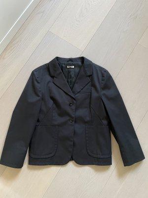 Miu Miu Blazer en laine noir laine