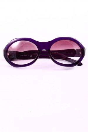 Miu Miu Brille lila Casual-Look