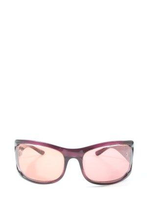 Miu Miu Gafas rosa-nude look casual