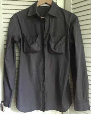 Miu Miu Camicia a maniche lunghe grigio-grigio scuro Cotone