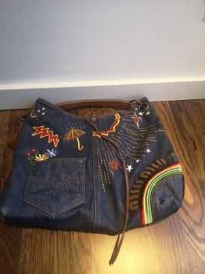 Miu Miu by Prada Tasche Handtasche Shopper Hobo Denim