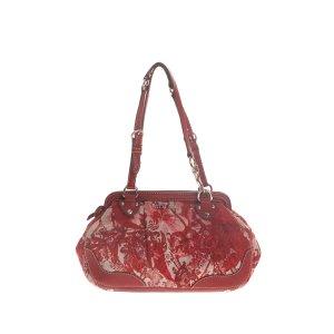 Miu Miu Canvas Shoulder Bag