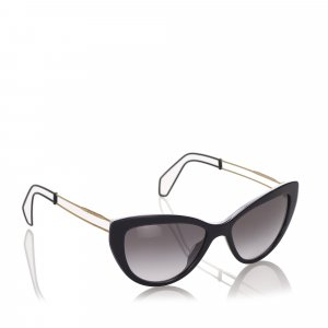 Miu Miu Cat Eye Tinted Sunglasses