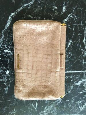 Miu Miu Croc-effect Patent-leather Clutch