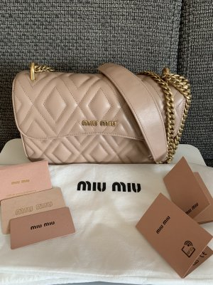 Miu Miu Crossbody Pattina Cipra Leder