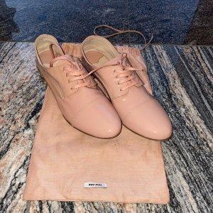 Miu Miu Lace Shoes light pink-pink