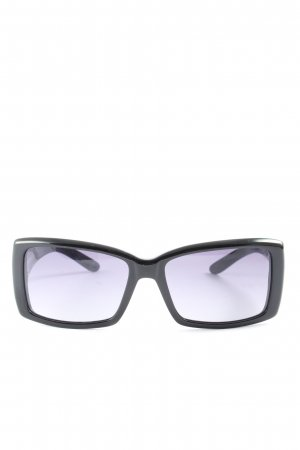 Miu Miu eckige Sonnenbrille schwarz Business-Look