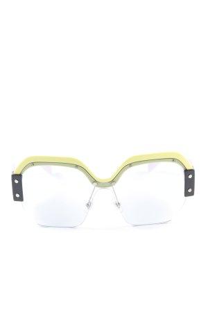 "Miu Miu eckige Sonnenbrille ""SMU09S VIV-4Q2 135 1N"""