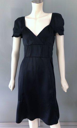 Miu Miu Empire Dress blue-dark blue silk