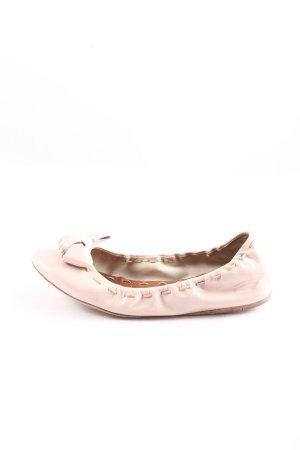 Miu Miu Foldable Ballet Flats cream casual look