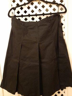 Miu Miu Jupe à plis noir