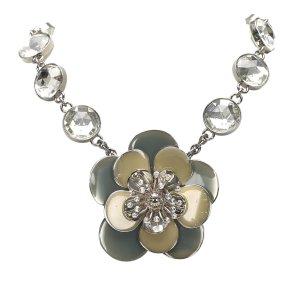 Miu Miu Flower Pendant Necklace