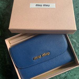 Miu Miu Portemonnee blauw-donkerblauw