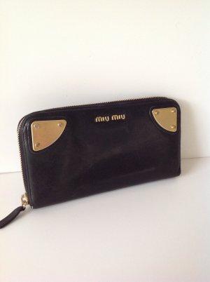 Miu Miu Wallet black leather
