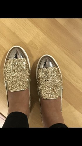 Miu Miu Glitzer Schuhe