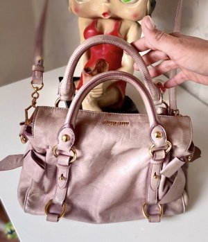 Miu Miu Handtasche Hand Bag Umhängetasche Leder