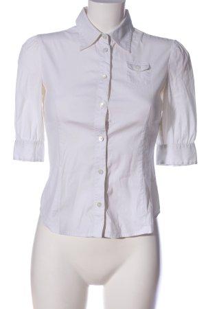 Miu Miu Camicia blusa bianco stile professionale