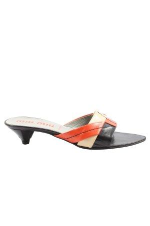 Miu Miu High Heel Sandaletten mehrfarbig Casual-Look