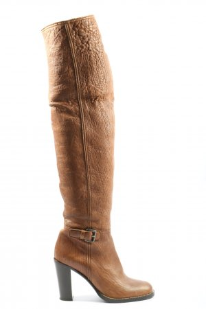 Miu Miu High Heel Stiefel braun Casual-Look