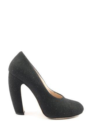 Miu Miu High Heels schwarz Casual-Look