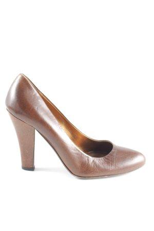 Miu Miu High Heels braun Business-Look
