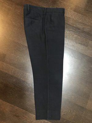 Miu Miu Pantalón tobillero azul oscuro Lana
