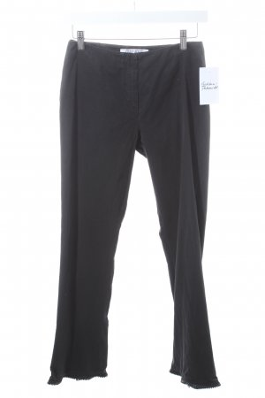 Miu Miu Low-Rise Trousers black casual look