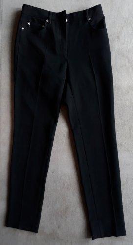 Miu Miu Pantalone jersey nero Sintetico