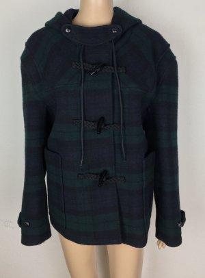 Miu Miu, Kapuzenjacke, grün-blau-schwarz, It. 38 (34), Wolle, neu, € 2.500,-