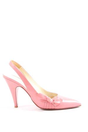 Miu Miu Klassische Pumps pink Business-Look