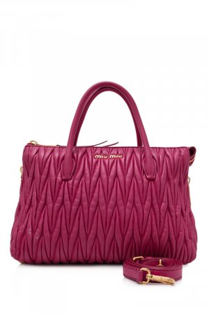 Miu Miu Tote pink leather