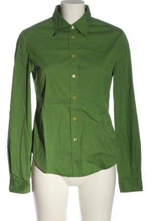 Miu Miu Camicia a maniche lunghe verde stile professionale
