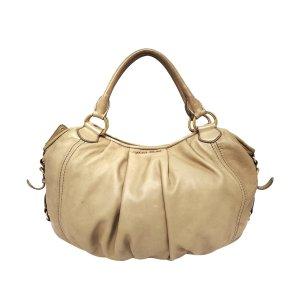 Miu Miu Bolso marrón claro Cuero