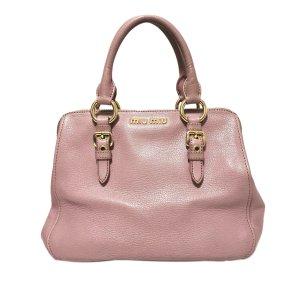 Miu Miu Bolso rosa Cuero