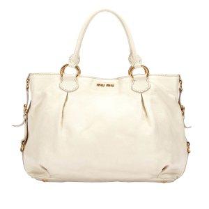 Miu Miu Handbag white leather