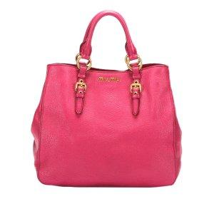 Miu Miu Handbag pink leather