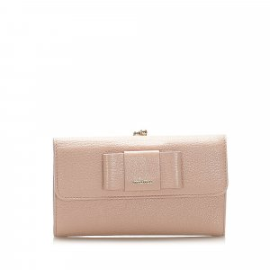 Miu Miu Leather Long Wallet