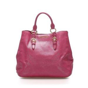 Miu Miu Satchel pink leather