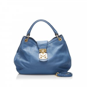 Miu Miu Leather Satchel