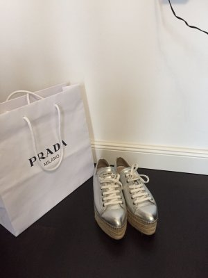 Miu Miu Leder Espadrilles Sneakers *37*