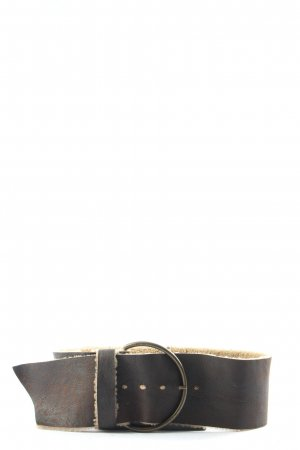 Miu Miu Leather Belt black business style