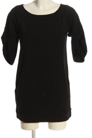 Miu Miu Camisa larga negro look casual
