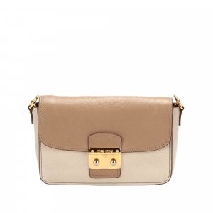 Miu Miu Crossbody bag white leather