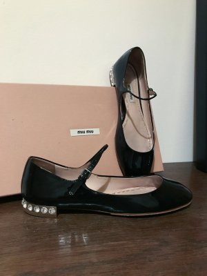 Miu Miu Mary Jane Ballerinas