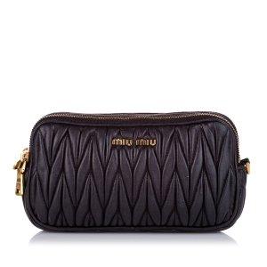 Miu Miu Crossbody bag black leather