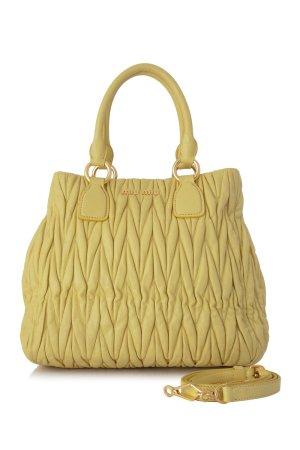 Miu Miu Satchel yellow leather
