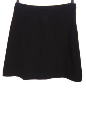 Miu Miu Mini-jupe noir style décontracté