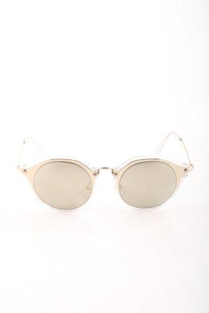 """Miu Miu ovale Sonnenbrille """"MU 0MU 51SS 49 ZVN1C0"""" goldfarben"""