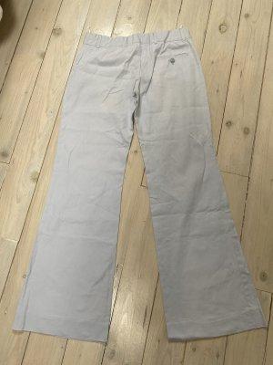Miu Miu Pantalone jersey celeste