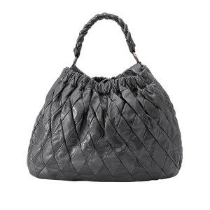 Miu Miu Patchwork Harlequin Leather Handbag